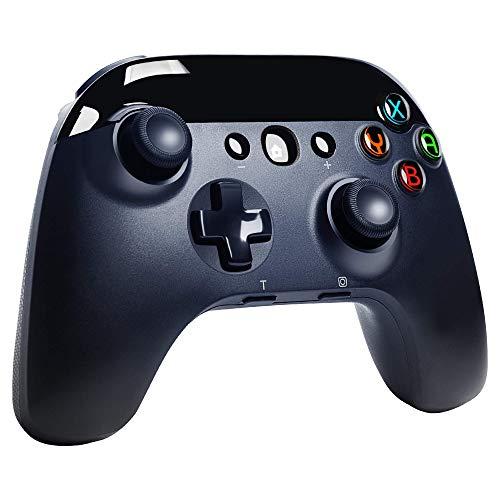 PALPOW Manette Sans Fil pour Nintendo Switch, Bluetooth Wireless Pro Contrôleur pour Switch Lite, Remote Controller Joypad Gamepad avec Turbo Réglable, Moteurs doubles et gyroscope 6 axes