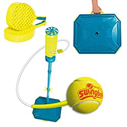 More spirals on the Swingball head means games last longer Improved lid to prevent leakages and increase water capacity for unrivalled stability All components pack away into the base for storage, supplied in frustration free eco packaging Steel tube...