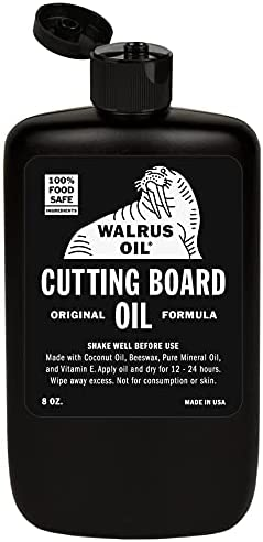 WALRUS OIL - Cutting National products Board Oil Wood 8 and Butcher oz Direct store Block