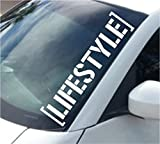 Large Lifestyle Version DD102 Car Truck Window Windshield Lettering Decal Sticker Decals Stickers JDM Drift Dub Vw Lowered JDM Fresh Detailed Stance Fitment 4x4