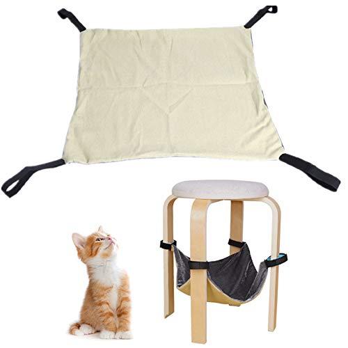 Cavia Bed Rat Hangmatten Kat Hangmat Cavia Speelgoed Kat Bedden Rat Bed Huisdier Hangmat Konijn Bed Kleine Huisdier Bed Rat Hangmatten Voor Kooi beige,l