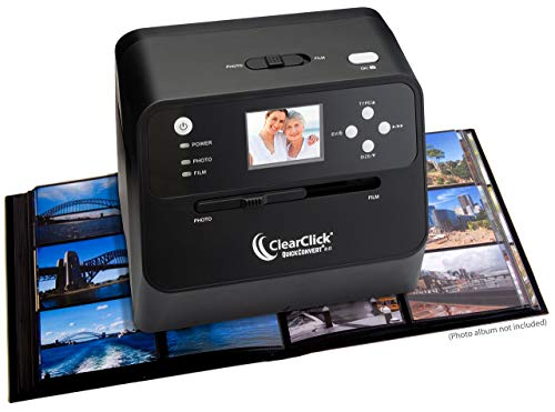 Best Prices! ClearClick 14 MP QuickConvert 2.0 Photo, Slide, and Negative Scanner - Scan 4x6 Photos ...