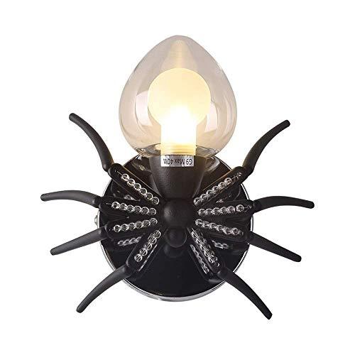 Rishx Individualidad Araña Aplique de cristal Lámpara de p