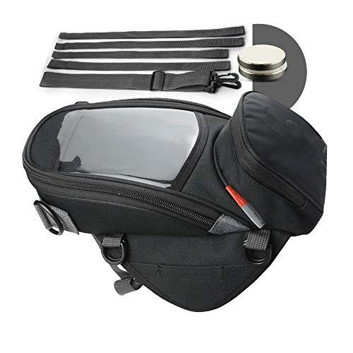 Meet World Motorrad-Reiten Rucksack Fuel Tank Bag Multi-Funktions-Handy-Beutel-Hängender Beutel Lokomotive