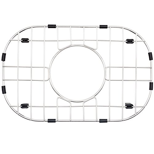 NWC Sink Protector, Metal Grid for Stainless Steel Kitchen Sinks | 14 in X 9 in | Best for Protecting Your Sink