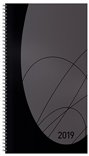 Modus XL Flexi Colourlux schw. Blackline, 128 Seit 2019: Terminplaner mit Wochenkalendarium. Ringbuch mit Hardcover. 1 Woche 2 Seiten. 8,7 x 15,3 cm