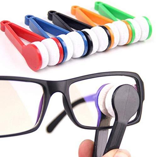 DishyKooker - Cepillo de Limpieza de limpiaparabrisas Multifuncional portátil de Cristal de Gafas, para Gafas