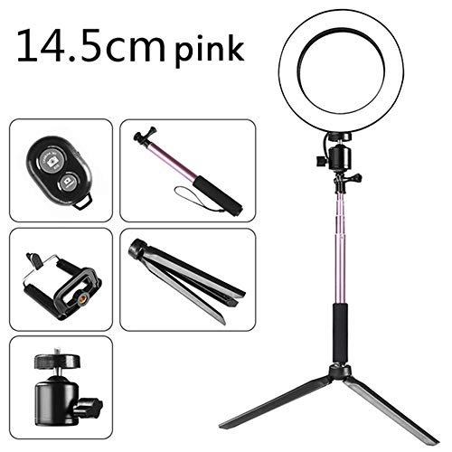 Cheapest Price! Weehey Telescopic Tripod/Cellphone Holder/BT Connected Remote Control DC5V 5W 64 LED...