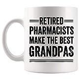 Taza de regalo de jubilación para el día del padre, abuelo, abuelo jubilado, abuelo, abuelo y abuelo