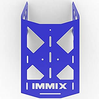 Cargo Rack Luggage Carrier Utility Rear Tail Holder Blue Powdercoat fits: 90-01 Suzuki DR350 - Immix Racing - 100-010-Blue