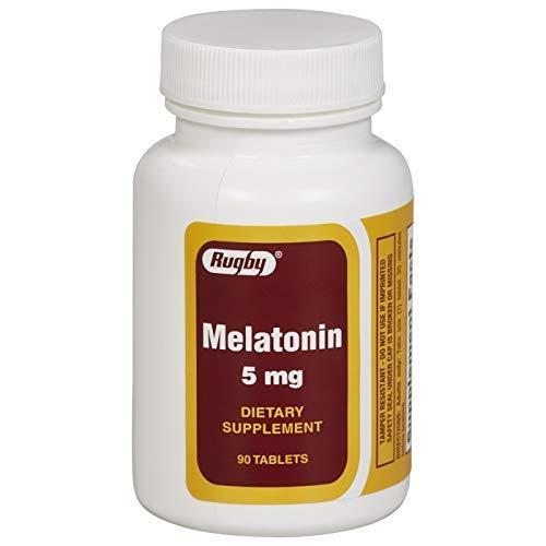 Sleep Aid Tablets, Melatonin 5mg, Helps You Fall Asleep, 90 Count