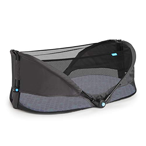 Munchkin Brica Fold N' Go Travel Bassinet, Grey