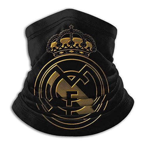 Real Madrid - Pañuelos unisex para la cara de Ma-sk multifuncionales para el cuello, pasamontañas para deportes al aire libre
