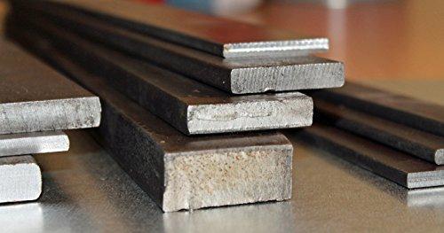 20 x 10 mm, acero plano, hierro de 100 hasta 3000 mm, longitud: 1500 mm
