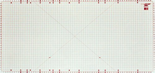 "Sullivans Super, 72"" Cutting mat, 40"" x 72"", White/Red"