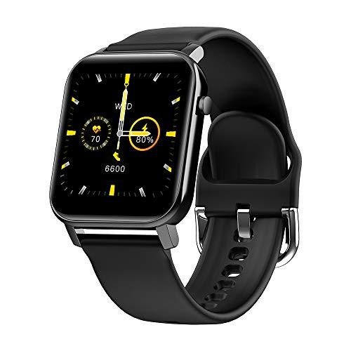 Didad Reloj Inteligente Rastreador de Fitness de Hombres Reloj Inteligente con a Prueba de Agua Ip68 de Presión Arterial Hombres Mujeres Reloj Inteligente Negro