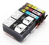 Bergsan 5 Druckerpatronen kompatibel mit HP 934 XL 935 XL für HP Officejet Pro 6830 6820 6230 6835 6836 6220 6800 Serie 6825 HP Officejet 6812 6815