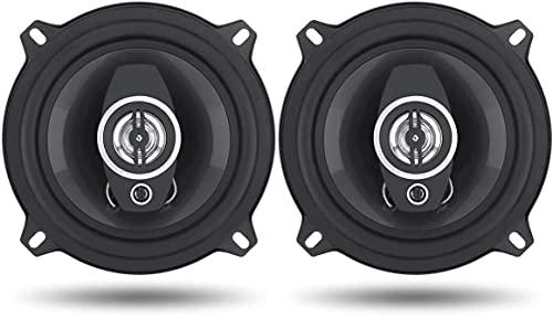 Di Tutto Per Tutti® Coppia Casse Auto Audio 132MM 300 Watt 2 Vie Con Griglia Altoparlanti Coaxial Speaker 4 Ohm TS-1372