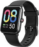 Lintelek Smart Watch, Reloj Inteligente con Frecuencia Cardíaca, Pulsera Actividad, Podómetro, Monitor de Sueño, Contador de Calorías, Cronómetro para Niños Mujeres Hombres (Negro)