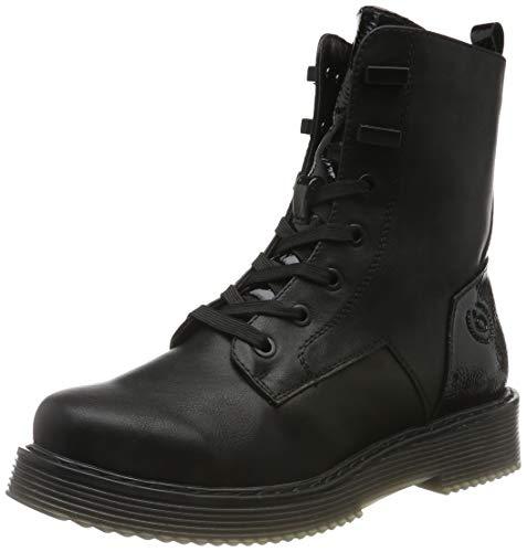 bugatti Damen 431549555057 Stiefeletten, Schwarz Black 1010, 40 EU