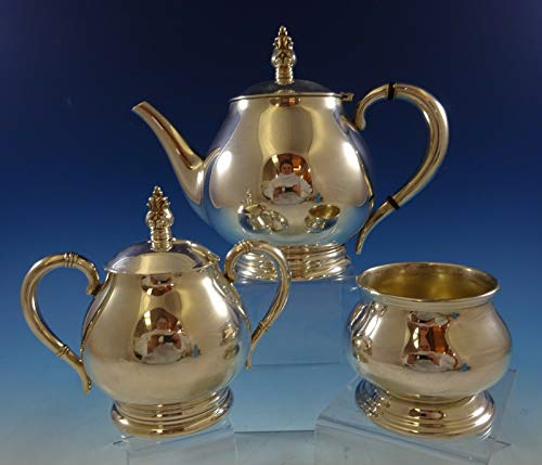 Sale!! Royal Danish by International Sterling Silver Tea Set 3pc (#2439)