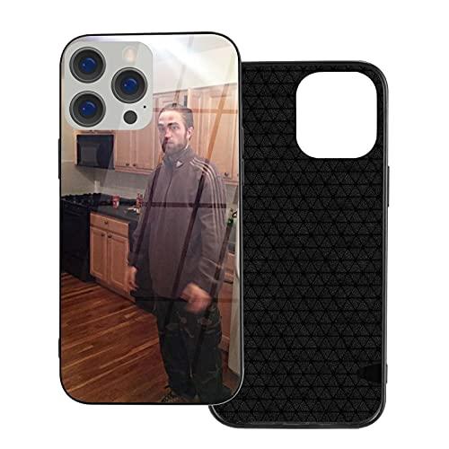 Cool Robert Pattinson - Carcasa de cristal para iPhone 12 (IP12 Pro-6.1)