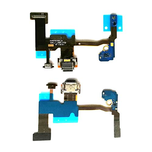 """UPONEW for Google Pixel 2XL G011C USB Charger Connector Charging Board Port Dock Flex Cable ReplacementMic Part Flex Cable for Google Pixel 2 XL 2 Plus G011C 6.0"""""""