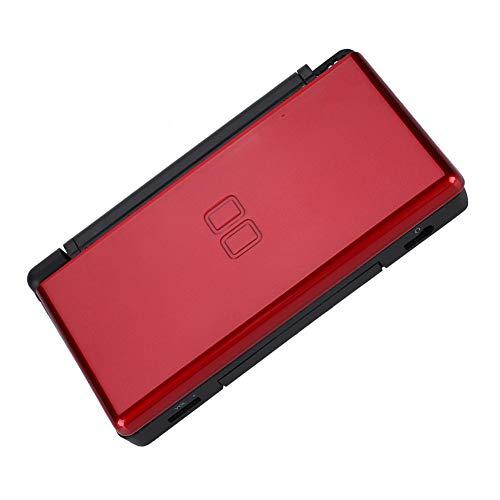 Kit de substituição de máquina de jogo, concha de máquina de jogo compacta confiável, compatível com Nintendo DS Lite(red)