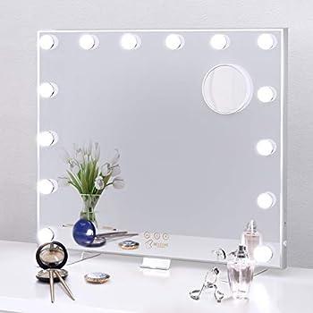 Bestope Large Vanity Mirror with Lights