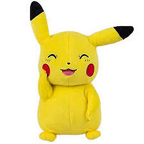 - peluche - DE Pikachu Pokemon Sonriente PICACHU 21 CMS