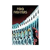 Foo Fighters Rock Band Leinwand Poster Wandkunst Dekor Bild