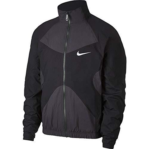 Nike Sportswear Woven Herren Jacke schwarz - L