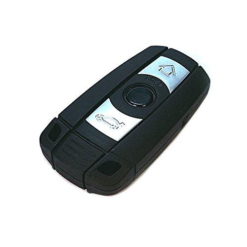 Jurmann Trade GmbH® 1x Ersatz Schlüsselgehäuse - 3 Taste Autoschlüssel bmwks11aa Klappschlüssel mit Rohling Schlüssel Fernbedienung Funkschlüssel Neu Gehäuse ohne Elektronik