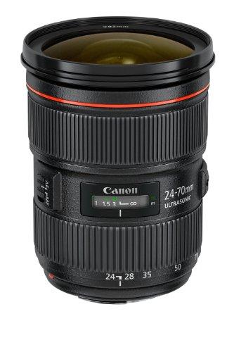 Canon EF 24-70mm f/2.8L II USM - Objektiv (SLR, 18/13, Standard, Ring USM, Schwarz, 8,85 cm)