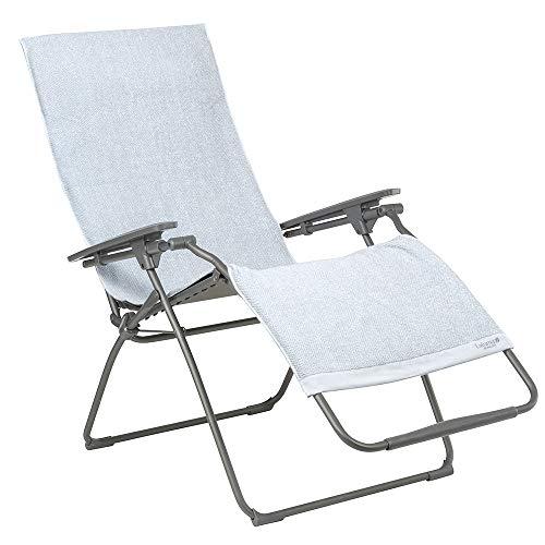 LAFUMA MOBILIER Drap de bain pour fauteuil relax, 100% coton, Couleur : Embrun, LFM2972-9300