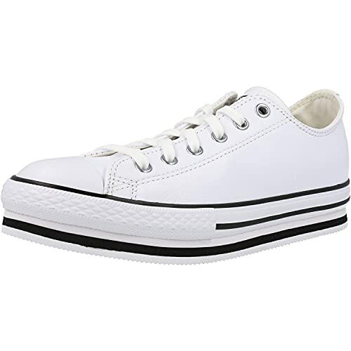 CONVERSE 669709C Plataforma EVA Lift Mujer Zapatillas Blanco 36