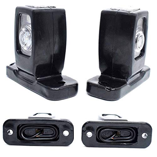 2x LED 24V 12V Begrenzungsleuchten Seitenleuchten Positionsleuchten Makierung LKW PKW Anhänger