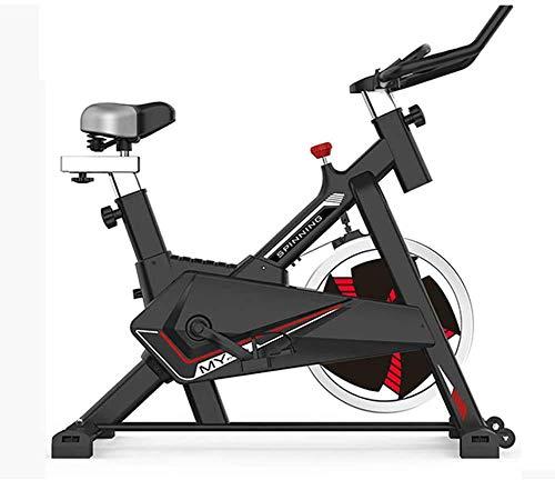 LKK-KK Bicicleta de ejercicio de ciclismo indoor,manillar ajustable y asiento,velocidad de los sensores del corazón,Excersize bicicletas for uso doméstico Cardio entrenamiento,bicicleta de Exercise 10