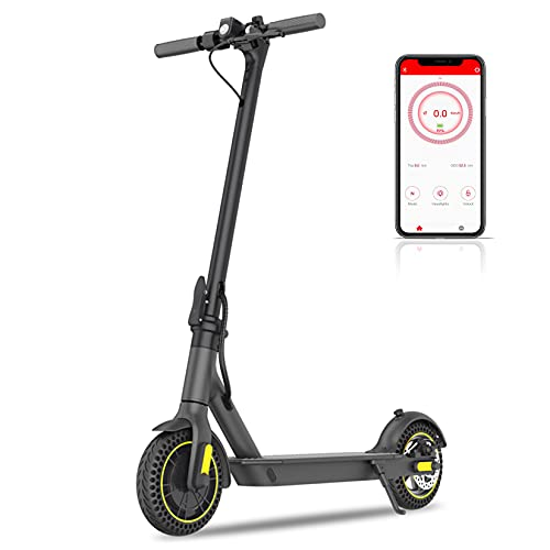 Happyrun Electric Scooter Adult, 10' Foldable E-scooter with Powerful 350W...