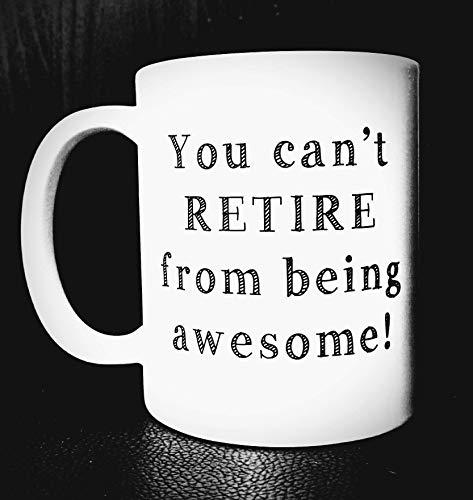 N\A Regalos de jubilación para Mujer Regalos de jubilación Mujer Regalos de jubilación Jubilación Regalo de jubilación Regalo de jubilación para Maestros Regalo de Taza de café