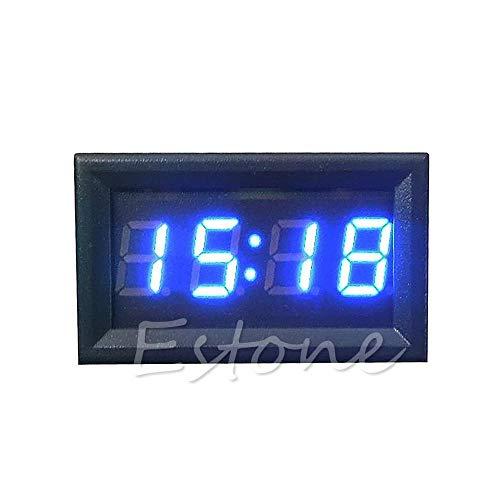 Digitale klok voor motorfietsaccessoires, 12 V/24 V, LED-display