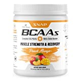 Best Bcaa For Women - Snap BCAA Powder Essential Amino Supplement with Nitric Review