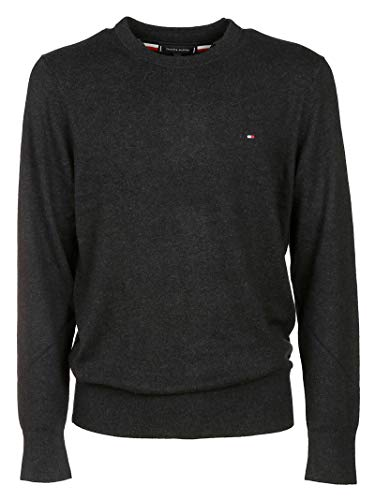Luxury Fashion | Tommy Hilfiger Heren MW0MW11674BD1 Grijs Kasjmier Truien | Herfst-winter 19