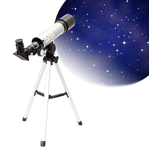 KAR Réfracteur Spyglass Zoom, télescope Professionnel HD astronomique monoculaire Trépied Haute Puissance Scopes Puissant Spotting