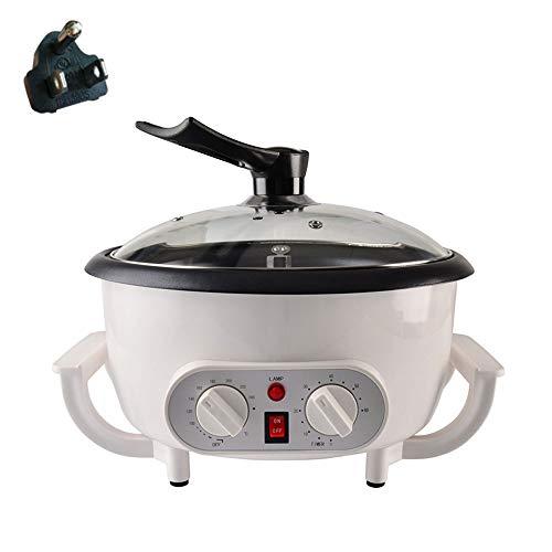 HUIXINLIANG Kaffee Roasters für Heimgebrauch, elektrische Kaffee-Bohnen-Röstermaschine mit Timing- und Temperaturanpassung, für Kaffee-Mais Popcorn Rohe Melonensamen Erdnüsse 110V / 220V 1200W