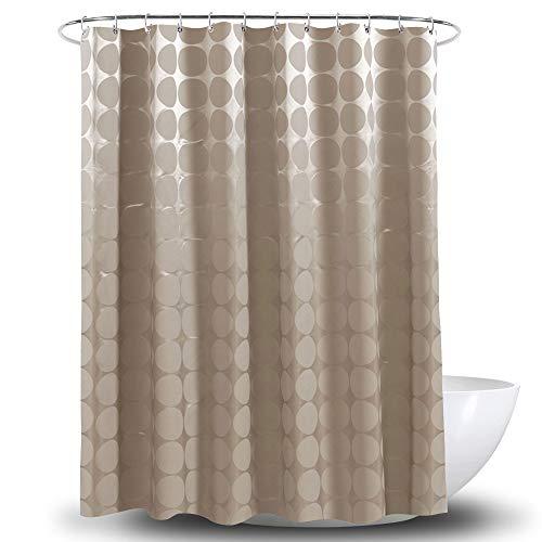 MEIZHIJIA Hotel Duschvorhang Mokka Ball Polyester Dicke Wasserdichte Partition Vorhang Bad Vorhang Mokka R&e Kugel 180X180 cm