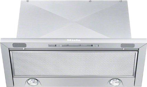 Miele DA 3360 Flachschirmhaube / Breite: 59.5 cm / Edelstahl / Spülmaschinengeeignete Edelstahl-Metall-Fettfilter / Renigungsfreundliches CleanCover