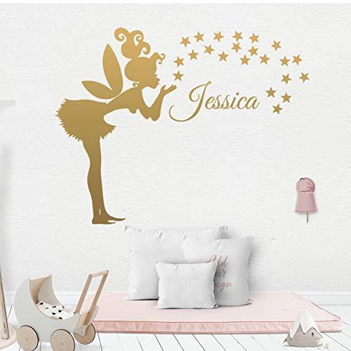 Art Vinyl Wall Sticker For Kids Room Girl Room Decorative Wall Decals Stickers Mural Wallpaper
