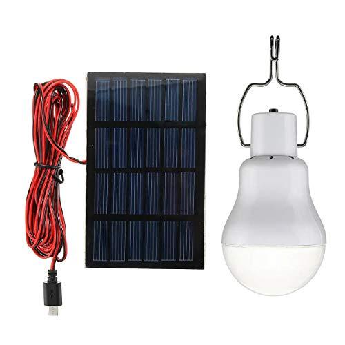 Solar-Panel Powered LED-Birnen-Licht-bewegliches im Freien Camping-Zelt Energie Lampe 5V 1W Mechaniker Werkzeuge