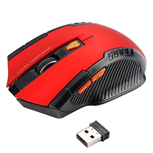 Wireless USB Bluetooth 3.0 Maus + 2,4 GHz 1600 DPI 2.4G 1600DPI Wireless Mouse USB 2.0 Receiver Professionelle optische drahtlose Mäuse USB rechten Scroll-Mäuse for Laptop PC Gamer Geeignet für Laptop